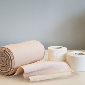 Groin wrap supplies - athletic therapy, athletic taping