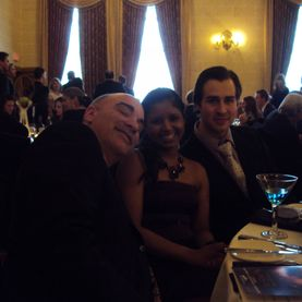 Fire & Ice Gala 2012, Winnipeg, Manitoba, Fort Garry Hotel, Pan Am Clinic Foundation, Melissa Deonaraine