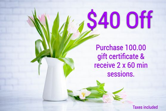 gift certificates, Academy Athletic Therapy Inc., Winnipeg, MB, offers, deals