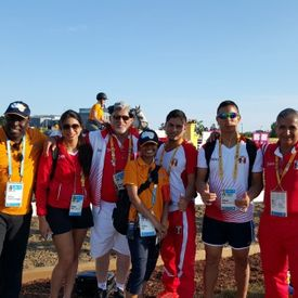 Academy Athletic Therapy Inc., Winnipeg, MB, pan am games, 2015, toronto, ontario, medical staff, team peru