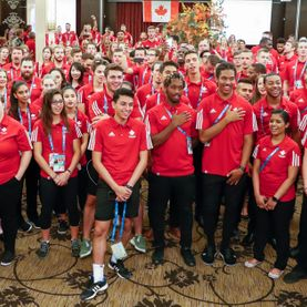 Team Canada Men's Volleyball - 2017 FISU, Academy Athletic Therapy Inc., Winnipeg, Manitoba, Team Canada, Men's Volleyball, chinese taipei, taiwan, athletic therapy, FISU, Summer Universiade, U Sports international