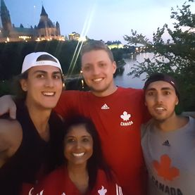 Academy Athletic Therapy Inc., Winnipeg, Manitoba, Ottawa, Team Canada, Men's Volleyball, Training camp, athletic therapy, FISU, Summer Universiade, U Sports international