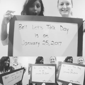 Bell Let's Talk, Winnipeg Manitoba, Academy Athletic Therapy Inc., melissa deonaraine
