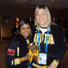 Academy Athletic Therapy Inc, Canada Winter Games 2011, Halifax, Nova Scotia, team manitoba, melissa deonaraine